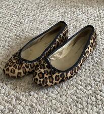 Anniel Leopard Print Ballet Flats Shoes 35 6 Repetto