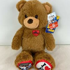 Build-A-Bear Workshop One Direction I Love 1D Plush Bear with Tags
