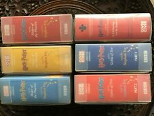 THREE HARRY POTTER BOOKS Narrated by Stephen Fry - six boxes of audio cassettes
