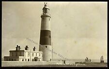 Antique Photo Portland Bill Lighthouse Isle of Portland Dorset England UK