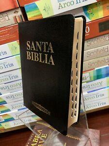 Biblia Antigua Version Reina Valera 1909 Piel Fabricada Con Indice letra 12 pun.