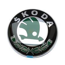 original Skoda Emble Logo Wappen hinten 8cm Fabia Felicia Octavia 1U0853621CMEL