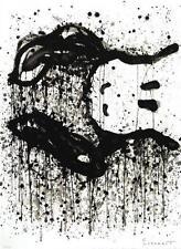 Tom Everhart Watchdog 9 O'Clock Hand Signed Lithograph Snoopy COA S2 Art
