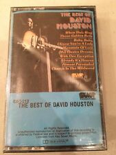 THE BEST OF DAVID HOUSTON  Cassette Tape