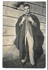 "Exeter College, Oxford Graduate ""Bill in new MSc Hood 1935 or 36"" RP PPC, Unused"