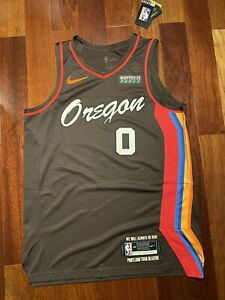 Damian Lillard City Edition Jersey 2021 Size Medium Authentic