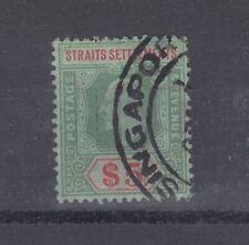 More details for malaya straits settlements kevii 1909 $5 sg167 superb singapore cds vfu j4264