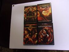 THE HUNGER GAMES - THE COMPLETE SAGA DVD LOT OF ALL 4 FILMS  SALE