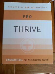 Thrive Pro Bars Cinnamon Roll X2 Boxes