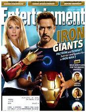 Entertainment Weekly Magazine May 10 2013 Gwyneth Paltrow Robert Downey Jr.