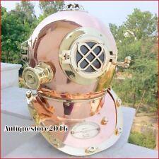 Nautical Vintage Sea Marine Diver Replica Diving Helmet Brass Collectible Gift