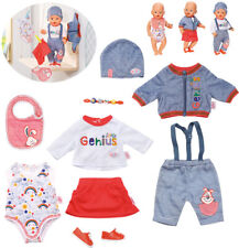 Zapf Creation Baby Born Deluxe Super Mix & Match Set 43 cm (Blau-Rot)