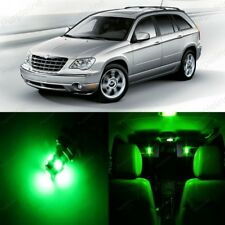 16 x Green LED Interior Light Package For 2004 - 2008 Chrysler Pacifica + TOOL