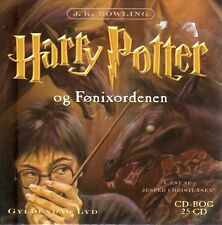 25 CD Harry Potter DÄNISCH Hörbuch - Og Fonixordenen