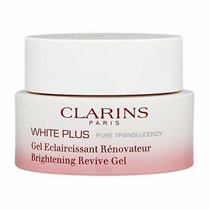 Clarins White Plus Brightening Revive Night Mask-Gel 50ml,1.7oz Radiance Skin