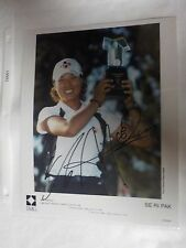 Rare Golf LPGA Tour IMG Center SE RI PARK Autograph Signed 8 x 10