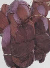 Euro Yarns Maharashtra Silk Laceweight 100/% Silk Discontinued Single Skein