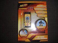 Brand New NERF Action CAMCORDER Helmet & Bike Mounts & Video Editing Software