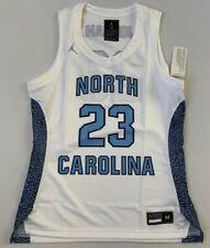 Nike Women^s North Carolina Tarheels Jordan Basketball Jersey SzM New At0544-100