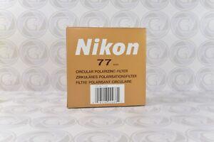 Original Nikon Cicular Polarisations Filter 77 mm