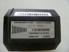 Kustom Signals 200 1447 00 24150 Ghz K Band Police Radar Antenna