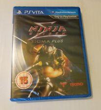 Ninja Gaiden Sigma Plus Ps Vita Nuevo Sellado PAL Reino Unido Sony Playstation PSV