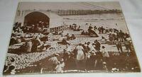 Huntington Beach California CA Boardwalk Sun Sand Pier Vintage 1923 Photo Poster