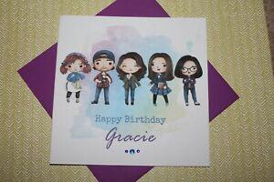 Handmade Personalised Gilmore Girls Birthday Card Sister Daughter Friend