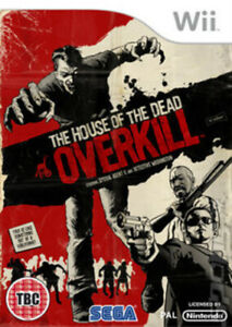 The House of the Dead: Overkill (Wii) PEGI 18+ Shoot 'Em Up Fast and FREE P & P