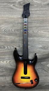 Xbox 360 Red Octane Sunburst Guitar Hero Wireless Guitar Tested!