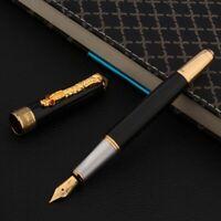 brass black sandalwood shell luxurious golden Writing GIFT Fountain Pen
