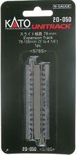 "KATO 20-050 N 78mm - 108mm (3"" - 4 1/4"") Expansion Track"