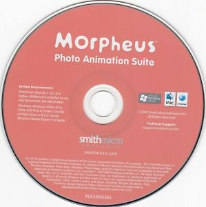 Smith Micro Morpheus Photo Animation Suite (PC, Mac and Windows) *DISC ONLY*