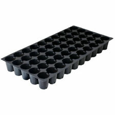 Seed Starting Tray 50 Round Cell Inserts Plug Tray Plant Flower - pack of 55