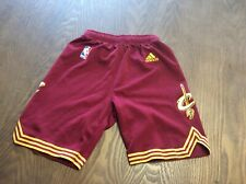 Cleveland Cavaliers Adidas Jersey Shorts Youth Small Boys Sz 8 Nba Basketball