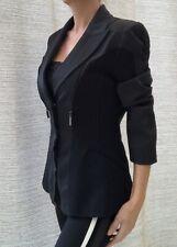 Veste noire THIERRY MUGLER vintage - Taille 44