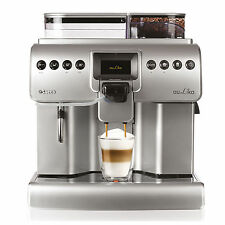 Saeco Aulika FOCUS Fully Automatic Espresso COFFEE Machine SILVER