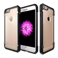 Hard Plastic Armor Back Cover Shell Protection Case for iPhone 7 Plus Transparen