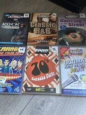 More details for karaoke cdg discs used