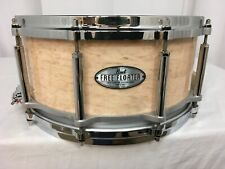 "Pearl Free Floating 14"" X 6.5"" Maple Snare Drum/Natural Birdseye Maple/#807/New"
