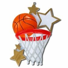 PERSONALIZED CHRISTMAS ORNAMENT SPORTS-BASKETBALL