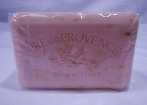 Pre De Provence French Bar Soap Rose Petal 8.8oz Shea Butter 12 Bars T1