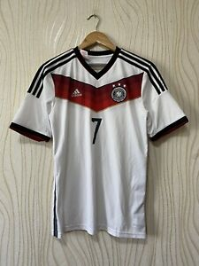 GERMANY 2014 2015 HOME FOOTBALL SHIRT SOCCER JERSEY ADIDAS G75073 sz 15-16 YEAR
