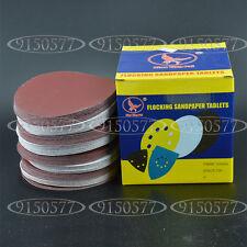 100pcs 7inch(180mm) 2000Grit Sander Disc Sanding Pad Polishing Pad Sandpaper