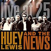 Live at 25 - Huey Lewis & the News CD! Rhino 2005 16 Track FREE US SHIPPING!