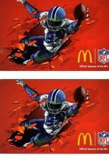 2 - McDonalds RED SuperBowl ARCH Cards - Seahawks, Broncos, NFL, Football