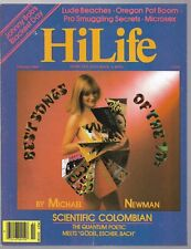 Hi Life Feb 1980 magazine Liberal cannabis marijuana hippies counter culture