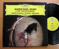 DG 2530 475 Ravel Bolero La Valse Espagnole Seiji Ozawa Boston Symphony 1974 NM