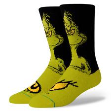 Dr. Seuss How The Grinch Stole Christmas Stance Socks Large Men's 9-12