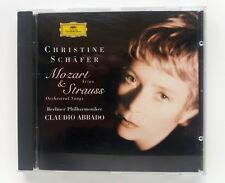CD Christine Schäfer  MOZART & STRAUSS Claudio Abbado gebraucht